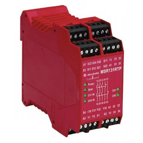 Allen Bradley Msr131rtp 440r C23139 Safety Relay Supply In